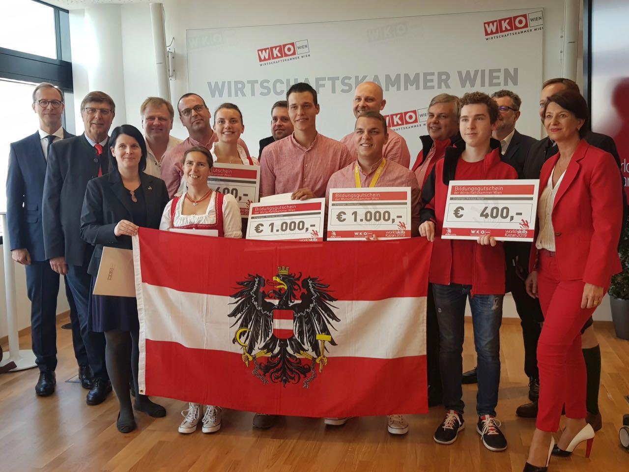 Wirtschaftskammer Wien gratuliert