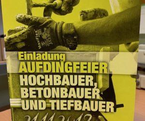 Aufdingfeier Hochbauer, Betonbauer und Tiefbauer