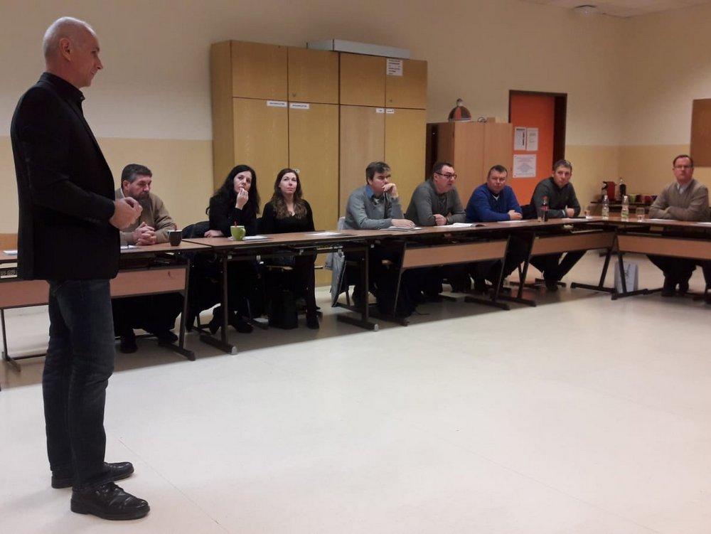 Besuch der ungarischen Delegation