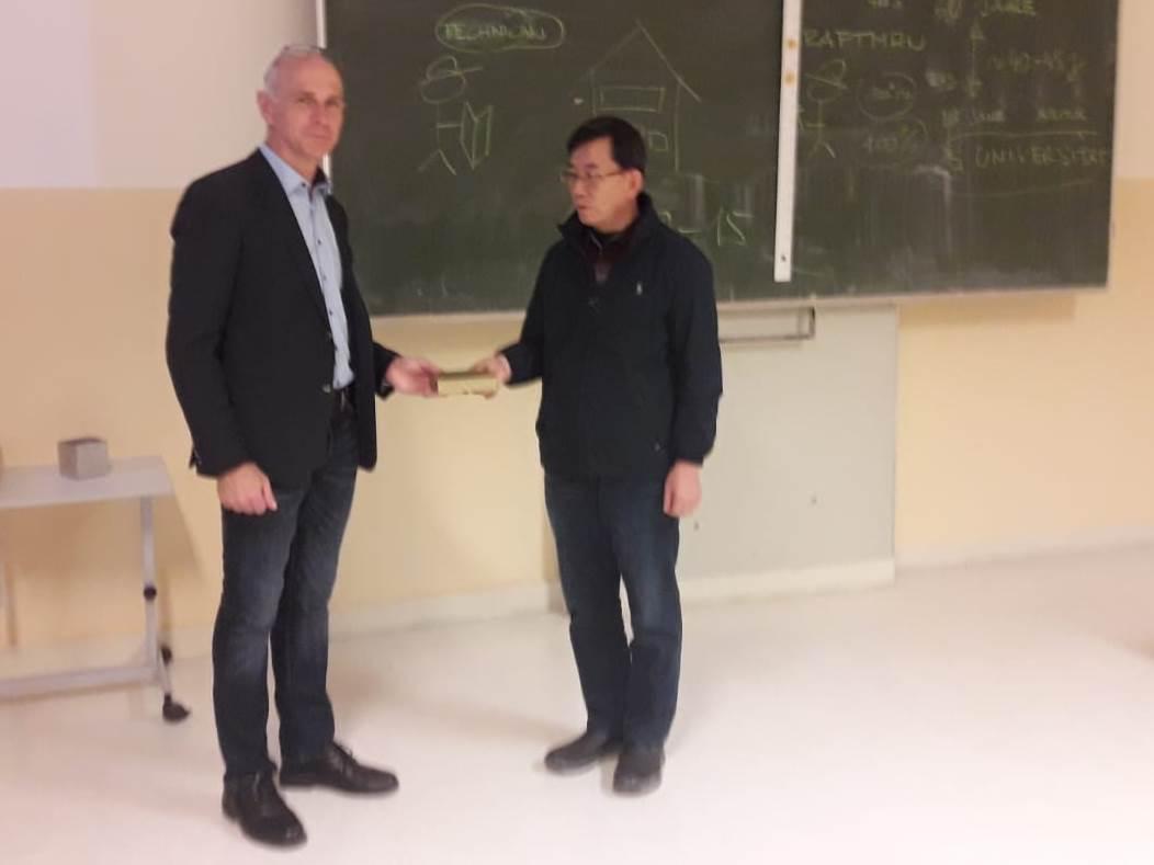 Besuch der südkoreanischen Delegation