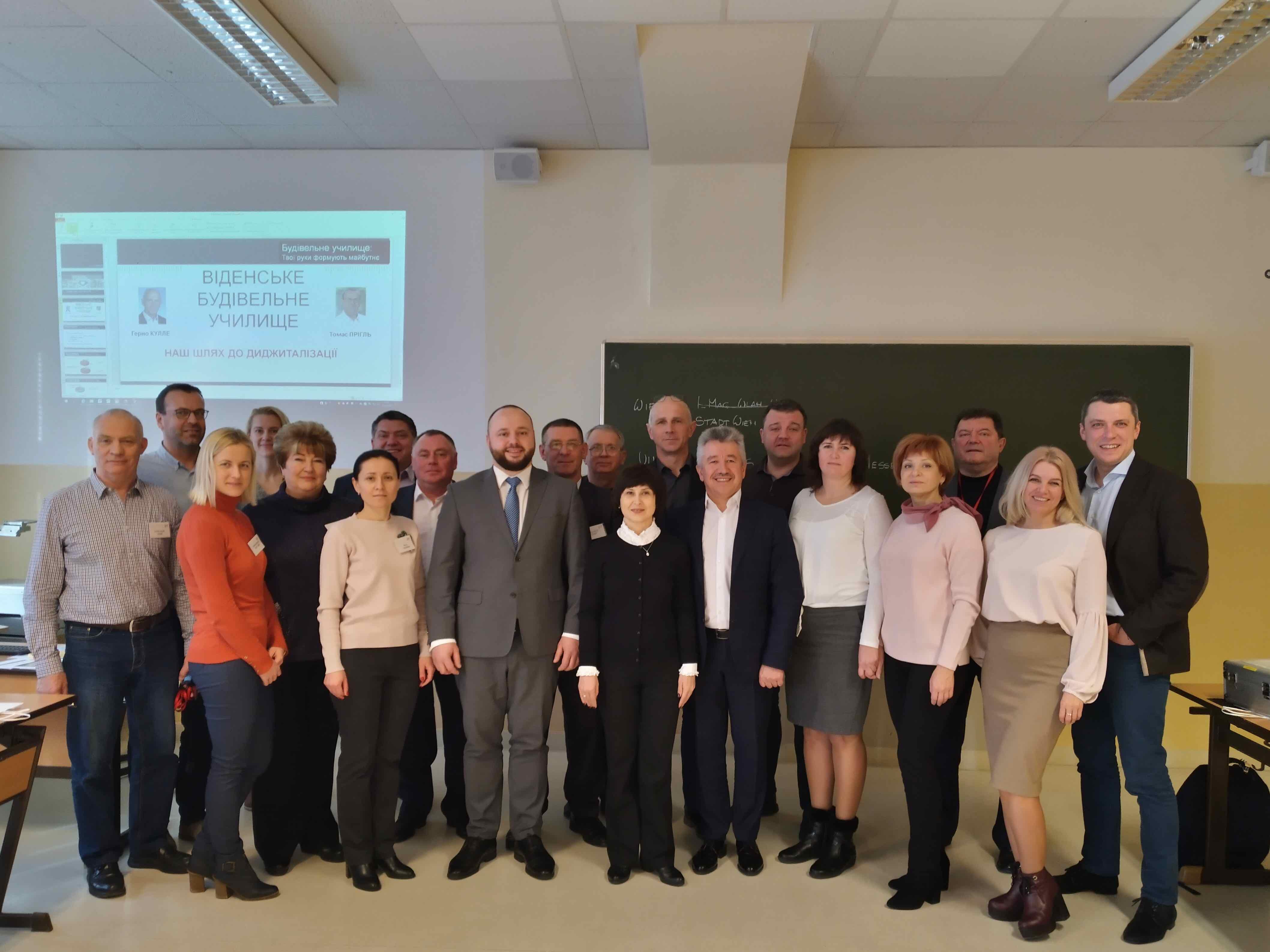 Besuch der ukrainischen Delegation