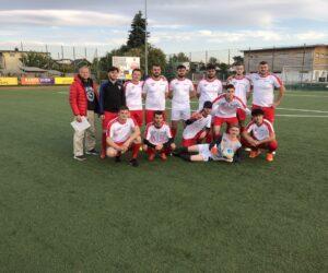 Erster Sieg für unser Fußballteam